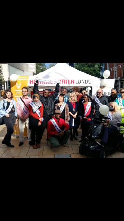 The human library project London 28th September 2016